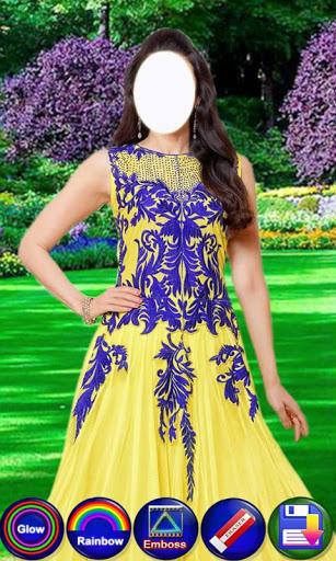 Salwar Suit For Girls : Women Salwar Photo Suit 6 تصوير الشاشة