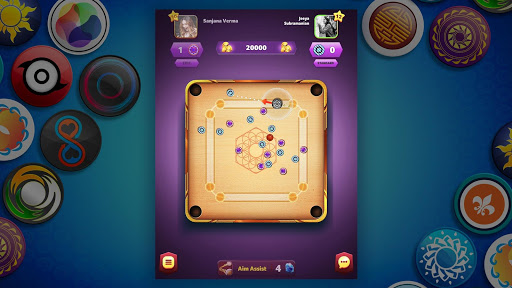Carrom Friends : Carrom Board & Pool Game 7 تصوير الشاشة