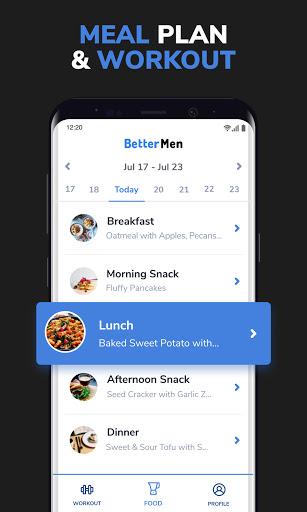 BetterMen: Home Workouts & Diet screenshot 2