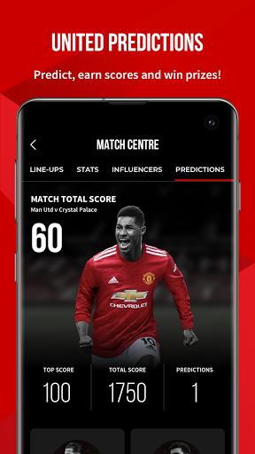 Manchester United Official App 3 تصوير الشاشة