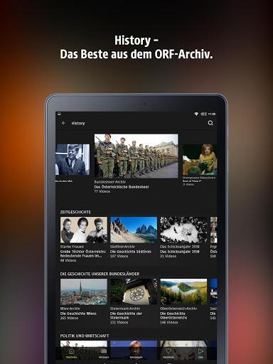 ORF TVthek: Video on demand screenshot 10