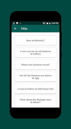 Status Saver 7 تصوير الشاشة