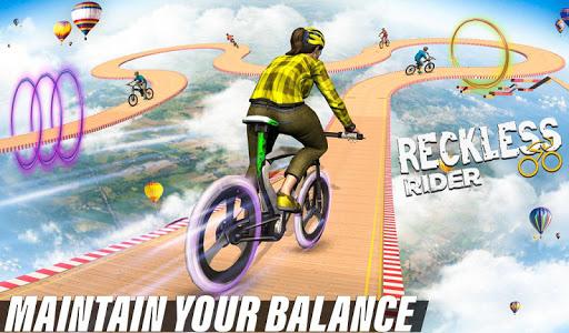 Reckless Rider- Extreme Stunts Race Free Game 2020 screenshot 2