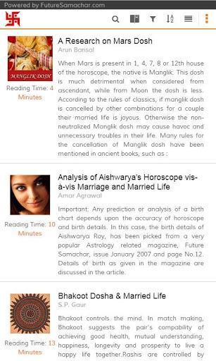Love & Marriage Horoscope Tips 7 تصوير الشاشة