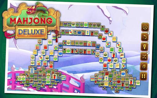 Mahjong Deluxe 10 تصوير الشاشة