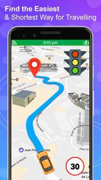 जीपीएस नेविगेशन लाइव उपग्रह दृश्य मानचित्र स्क्रीनशॉट 1