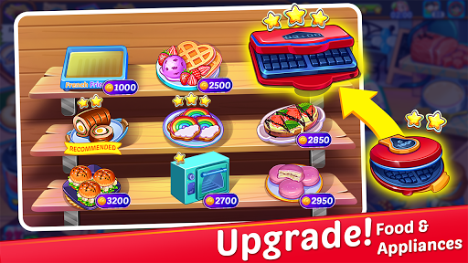 Cooking Express : Food Fever Cooking Chef Games 4 تصوير الشاشة