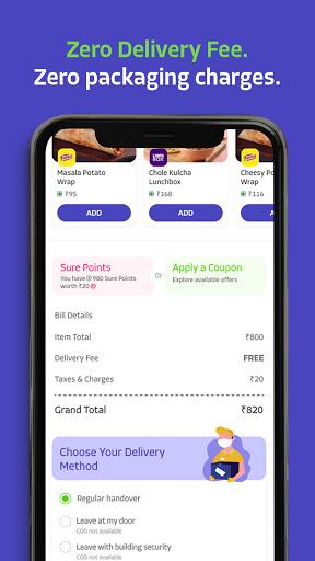 EatSure - Order Food Online & Food Delivery 1 تصوير الشاشة