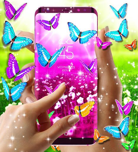 Butterflies live wallpaper 7 تصوير الشاشة
