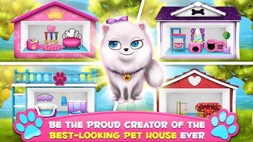 Pet House Decoration Games screenshot 2