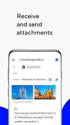 Mail.ru - Email App screenshot 3