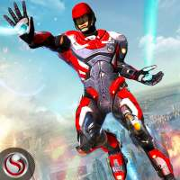 Flying Future Hero Survival on 9Apps