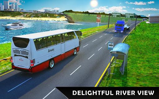 River Coach Bus Simulator Game screenshot 18