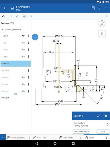 Onshape 3D CAD screenshot 10