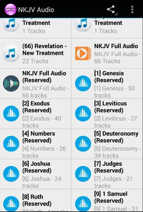 NKJV Bible Free Download Offline Audio screenshot 14