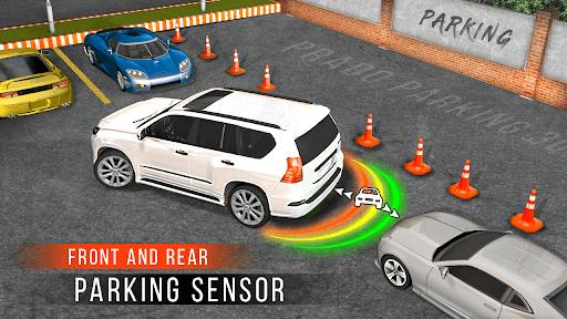 Car Parking Simulator Games: Prado Car Games 2021 screenshot 5