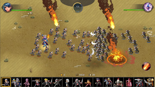 Miragine War screenshot 4