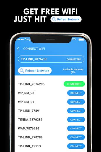 Wifi Password Hacker Prank & SpeedTest Master Lite screenshot 2