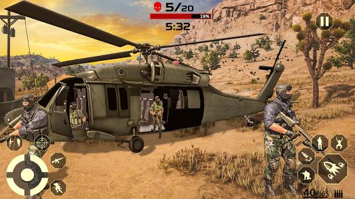 Unknown Battleground Fire: Fire Free Battle Royale screenshot 2