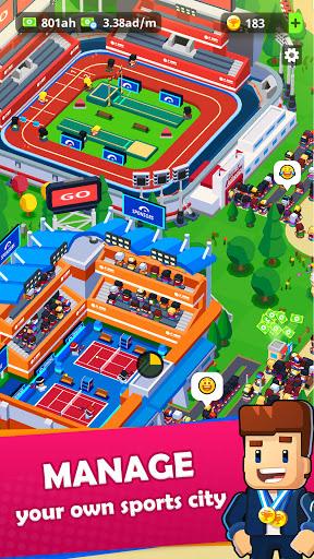 Sports City Tycoon - Idle Sports Games Simulator screenshot 1