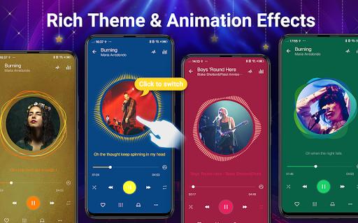 Pemutar musik - MP3 Pemain & 10 Band Equalizer screenshot 3