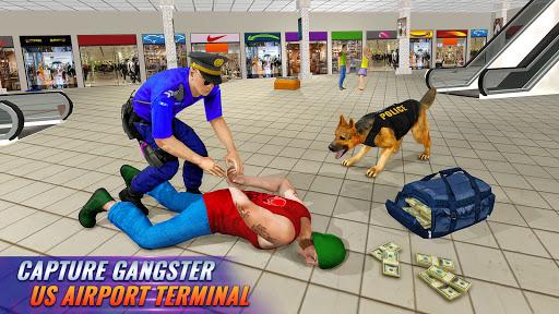 Police Dog Airport Crime Chase : Dog Games screenshot 3