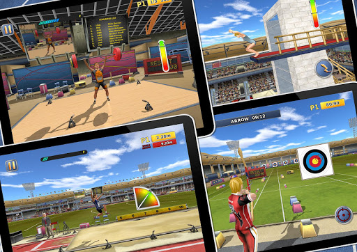 Athletics2: Summer Sports Free screenshot 8