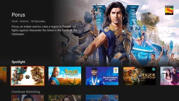 SonyLIV - TV Shows, Movies & Live Sports Online TV screenshot 2