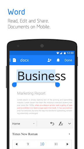 Polaris Office - Free Docs, Sheets, Slides   PDF screenshot 2