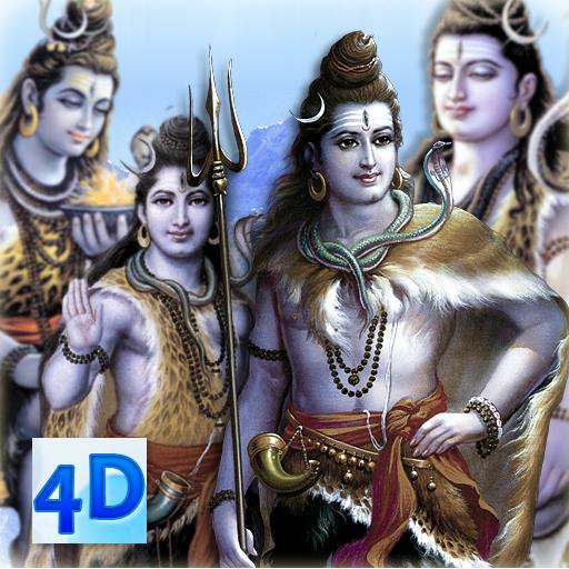 4D Shiva Live Wallpaper أيقونة