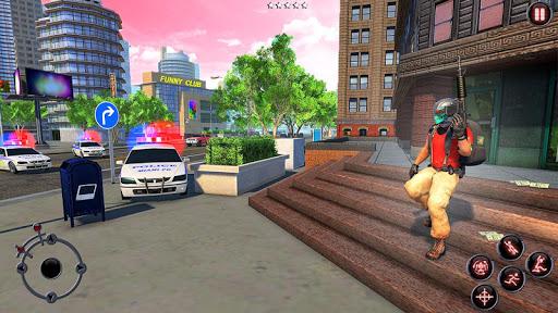 Rope Amazing Hero Crime City Simulator screenshot 4