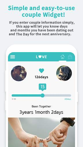 Couple Widget - Love Events Countdown Widget screenshot 3