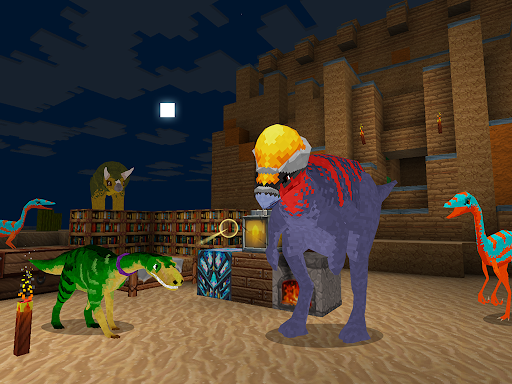 JurassicCraft: Free Block Build & Survival Craft screenshot 19