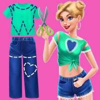 DIY Fashion Star - Design Hacks Clothing Game on 9Apps