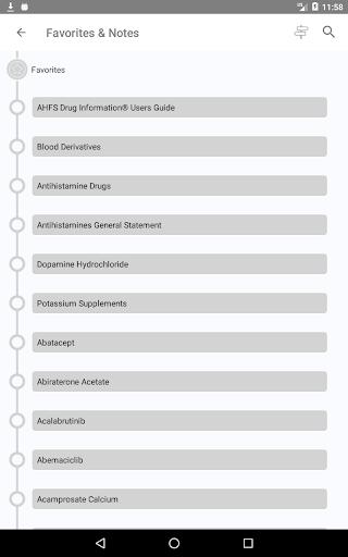 AHFS Drug Information (2020) 13 تصوير الشاشة