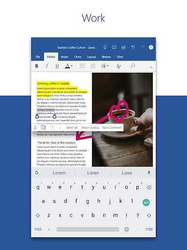Microsoft Word: Write, Edit & Share Docs on the Go screenshot 8