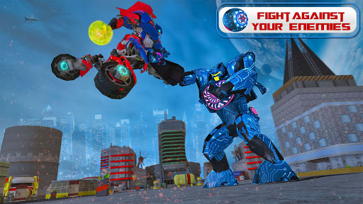 Ball Robot Transform Bike War : Robot Games screenshot 3
