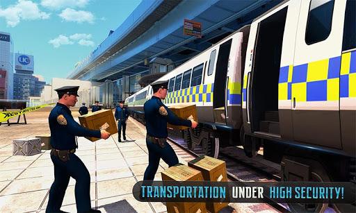 Police Train Shooter Gunship Attack : Train Games screenshot 5