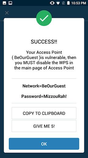 WIFI WPS WPA TESTER screenshot 7