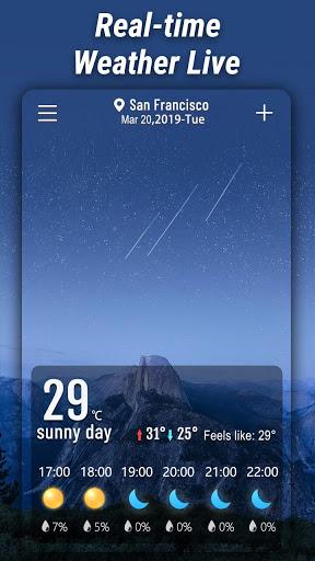 मौसम - Weather स्क्रीनशॉट 1
