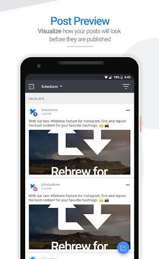 Statusbrew: Social Media Tools screenshot 3