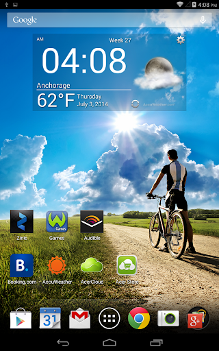 Acer Life Digital Clock 2.2 screenshot 2