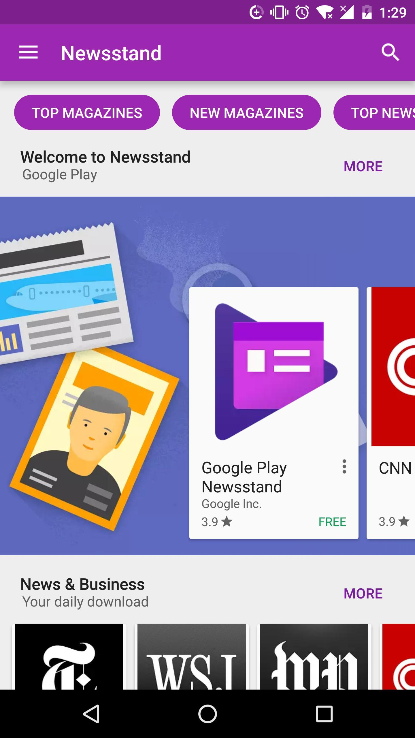 Google Play Store 4 تصوير الشاشة