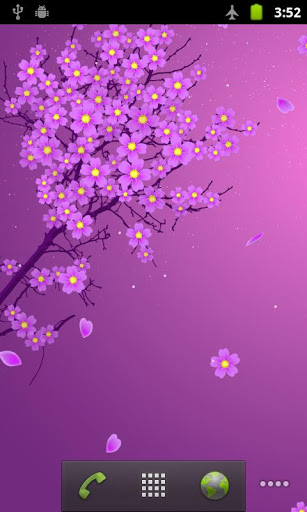 Sakura Live Wallpaper screenshot 1