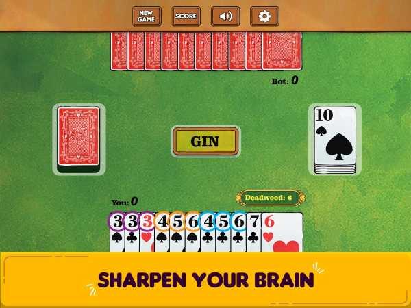 Gin Rummy Free! screenshot 7