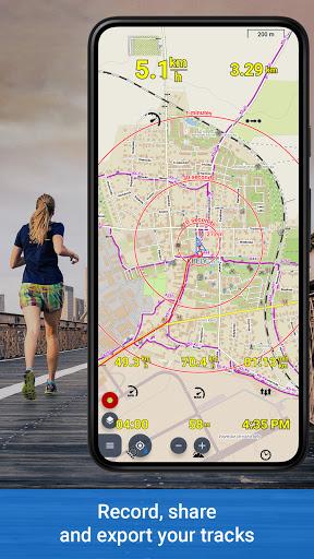 Locus Map 4: Hiking&Biking GPS navigation and Maps screenshot 4