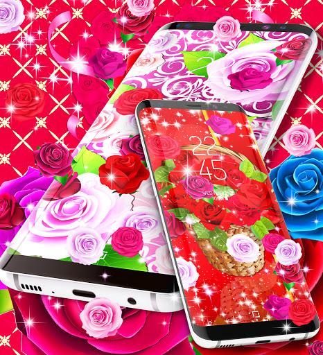2021 Roses live wallpaper screenshot 4