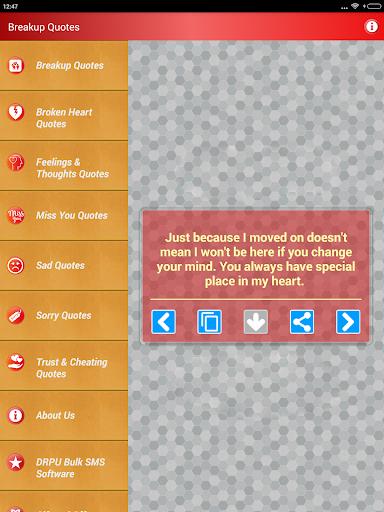 Sad & Broken Heart Pain Status screenshot 11