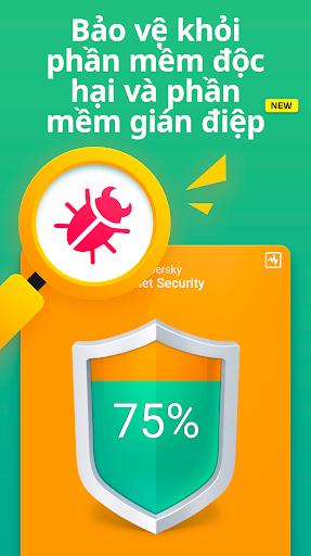 Kaspersky Mobile Antivirus: AppLock & Web Security screenshot 2