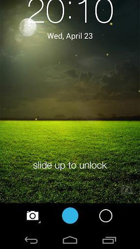 Fireflies lockscreen 13 تصوير الشاشة